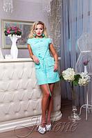 Платье-Туника Ментоловая Батист S-XL