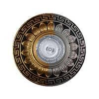 Точечный светильник MR 16 RG072L/10 SS+SG+BK серебро+золото+черный (гипсовый)