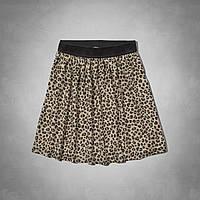 Леопардовая юбка Abercrombie&Fitch