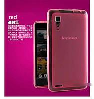 TPU чехол для Lenovo P780 розовый