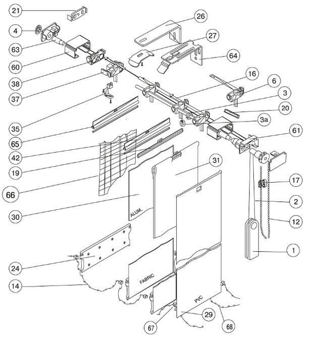 Ремонт вертикальных жалюзи своими руками устройство