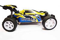 Гоночный автомобиль для детей 5513В-1 Yellow, радиоуправляемый, с балансировкой уклона, съемные аккумуляторы