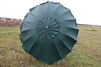 Зонт 3м 16 спиц с серебряным напылением и ветровым клапаном