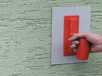 Правильный выбор и нанесение фасадной штукатурки