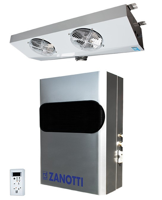 Сплит-система морозильная  Zanotti BGS 218 (-15..-25C) (10м.куб)