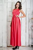 Яркое, вечернее платье макси!  L46-48 р