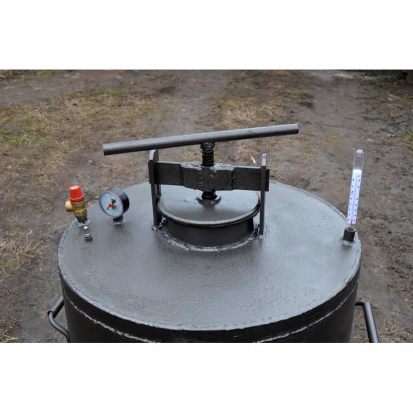 Автоклав с терморегулятором своими руками