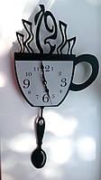 """Часы настенные c с маятником """"Чашка"""", 30*27*3 см."""