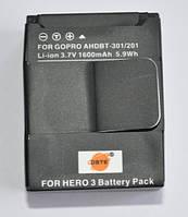 Аккумулятор GoPro Hero AHDBT-301/201 (DSTE)
