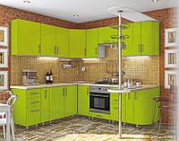 """Кухня модульная """"High Gloss"""" угловая 2500*1700 мм"""
