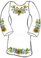Заготовка для вишивки жіночого плаття-вишиванки під бісер (СЖ-19)