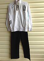 Спортивный костюм для мальчика Белая кофта Adidas