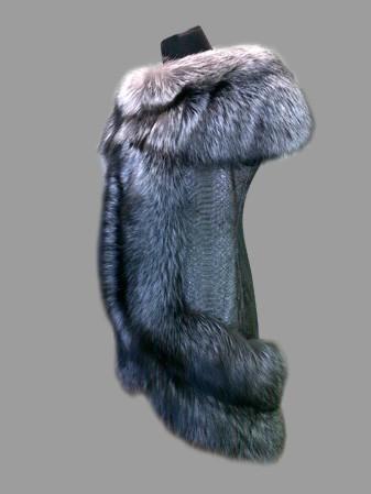 Пошив жилета из чернобурки своими руками