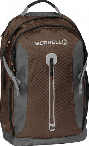 """Рюкзак практичный с отделением для ноутбука 15,6"""" 20 л. MERRELL Rockford JBF22648;208 темно-коричневый"""
