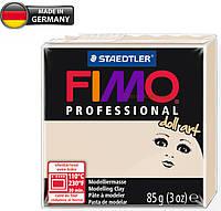 Полимерная глина - FIMO Professional doll art, 8027-44 (полупрозрачный бежевый), 85г., для кукол