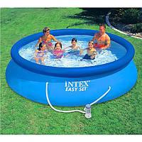 Надувной INTEX бассейн 56422 (28132) Comfort-Rest Easy Set с насосом