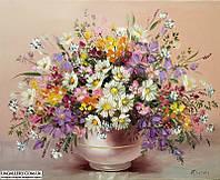 Картина маслом цветы (живопись)