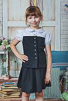Школьная форма для девочки черная, фото 1