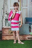 Сарафан с болеро  для девочки розовый, фото 1