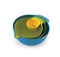 Набор мисок Joseph Joseph Nest Mix 3 шт + отделитель желтка (40015)