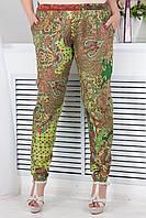 Модные летние брюки больших размеров (рр 46-64)