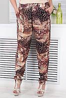 Стильные летние брюки больших размеров (рр 46-64)