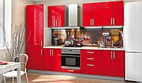 """Кухня модульная """"High Gloss"""" прямая 3000 мм"""