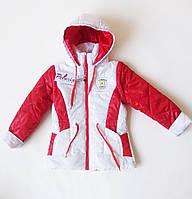 """Стильная куртка-жилетка для девочки """"Пелюрия"""""""