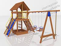 """Детский комплекс для Дачи """"Праздник малыша""""  - ДК 005.065"""
