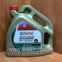 Моторное масло Castrol EDGE FST 0W-30 4 л.