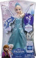 Кукла Эльза поющая принцесса Дисней Холодное Сердце Disney Frozen Singing Elsa Doll