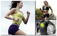 Стильные, спортивные, наручные часы для бега с подсветкой и пульсометром.