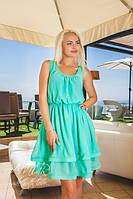 Шифоновое платье в стиле Бэби-долл