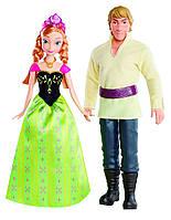 Набор кукол Анна и Кристоф Дисней Холодное Сердце. Disney Frozen Anna and Kristoff Doll, 2-Pack