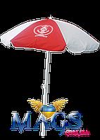 Пляжный зонт с наклоном 2 м