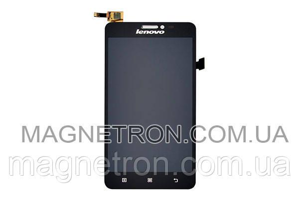 Дисплей с тачскрином #BTL507212-W677L R6.3 для Lenovo S850/S859, фото 2