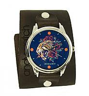 """Эксклюзивные женские часы AndyWatch """"Тигр """" купить с бесплатной доставкой"""