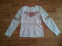 Вышиванка для девочки Ніжна квіточка
