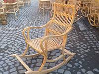 Плетеное кресло-качалка. Кресло качалка из лозы