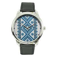 Неординарные мужские часы AndyWatch. Вышиванка на черном