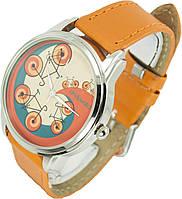 Женские наручные часы. Велосипеды