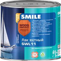 Лак яхтный SMILE WOOD PROTECT SWL11 алкидно-уретановый глянцевый 0,75л
