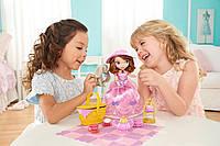 Говорящая кукла София Прекрасная в наборе чаепитие на пикнике.Disney Sofia the First