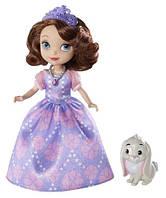 Кукла София и кролик Клевер. Disney Sofia The First