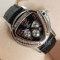 Женские Часы Diamond Dior Silver/Black