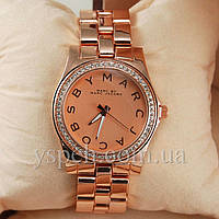 Женские Часы Marc Jacobs Henry Pink Gold Diamonds Extra
