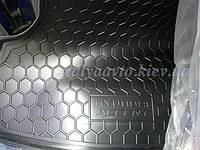 Коврик в багажник HYUNDAI Accent седан с 2011 г. (AVTO-GUMM) пластик+резина