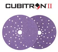 3М™51221 Cubitron™ II Hookit™737U - Мультидырочные абразивные диски, 150 мм, Р80+