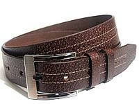 Кожаный ремень в стиле T.H. 115см (коричневый)