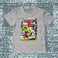 "Модная футболка ""SpiderMan & Hulk"""